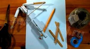 Как сделать арбалет из бумаги