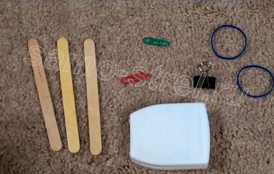 Самодельный мини арбалет - Материалы для изготовления мини арбалета