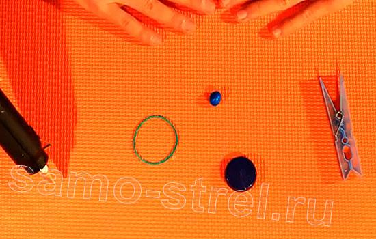 Материалы для изготовления катапульты из прищепки