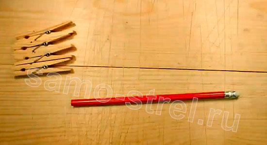 Материалы для изготовления многозарядного резинкострела