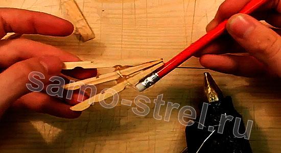Многозарядный резинкострел - И третью половинку