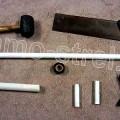 Материалы для изготовления лука из ПВХ трубы (How to make a Bow - PVC Bow)