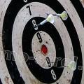 Мишень для стрельбы дротиками из духовой трубки
