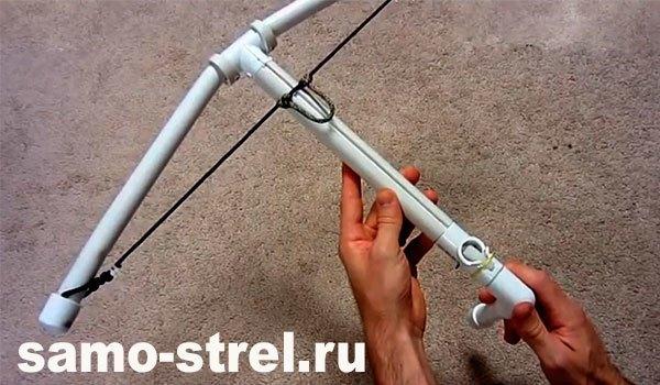 Как сделать лук из полипропиленовой трубы своими руками 5
