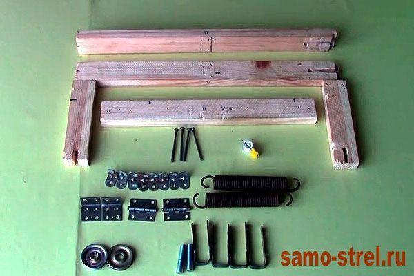 Материалы для изготовления блочного лука