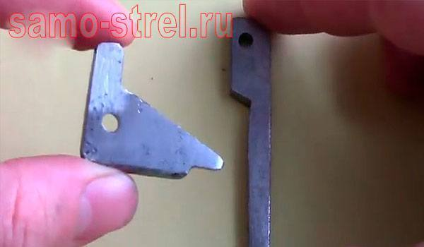 Спусковой механизм для арбалета - Спусковой крючок и зацеп ГОТОВЫ