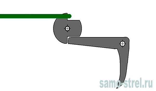 Как сделать простейший спусковой механизм на арбалет