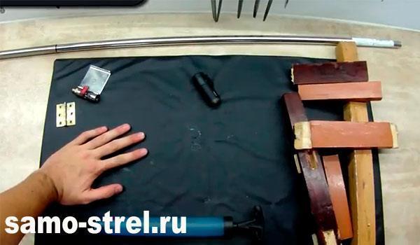 Материалы для изготовления винтовки внутреннего сгорания